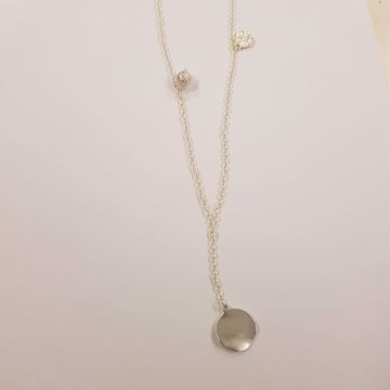 AUDREY SIMPLE CHAIN NECKL SILVER