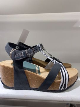 ANIMAL NERO SANDAL