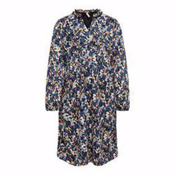 PELLA L/S FRILL DRESS