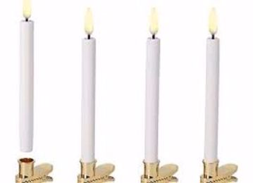 TAPER CANDLE 4-PACK