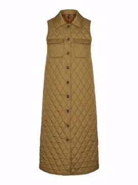 VMKATJA LONG QUILTED VEST