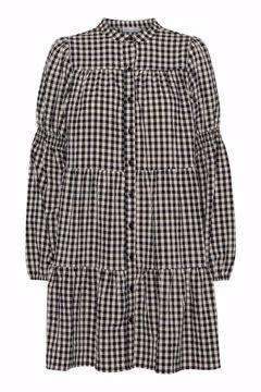 SANNA SMALL CHECK DRESS
