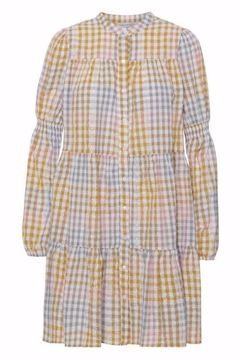 SANNA SMALL CHECK DRESS