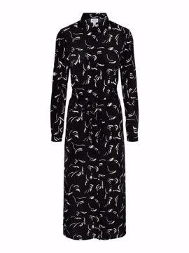 VMODEA LS CALF SHIRT DRESS