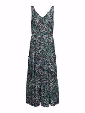 VMHANNAH FOIL ANKLE DRESS