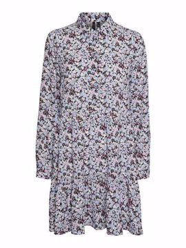 VMSAGA LS COLLAR DRESS