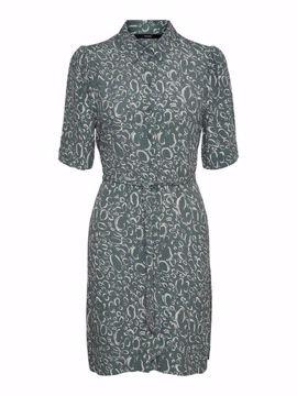 VMLIVA 2/4 SHORT SHIRT DRESS